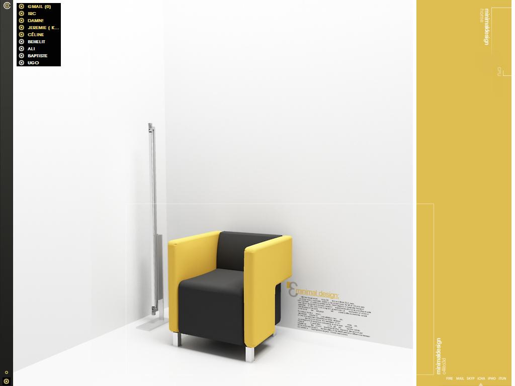 Minimal design wallpaper minimal design by c4lito3d